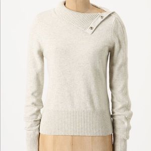 Anthropologie Moth Button Sweater